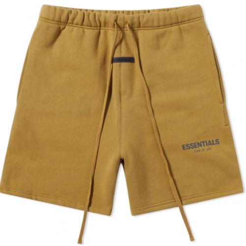 FOG Essentials Mustard Shorts