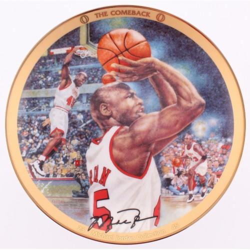 "Michael Jordan Collection Plate ""The Comeback"""