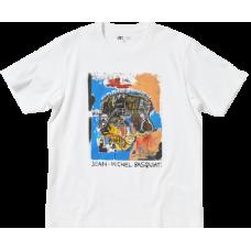Basquiat x Uniqlo White Mono Tee