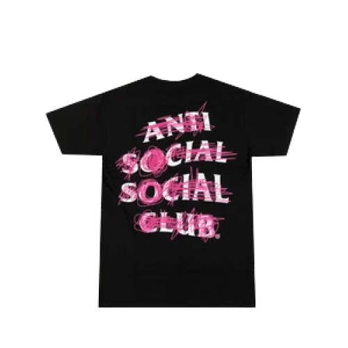 ASSC Nevermind Members Only Black Tee