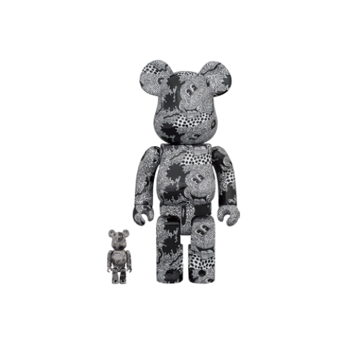 Bearbrick x Keith Haring x Disney Mickey Mouse 100% & 400% Set
