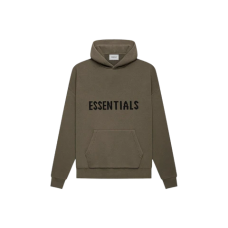 Fear of God Essentials Knit Pullover Hoodie Harvest