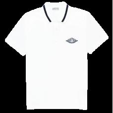 Dior x Jordan Polo White