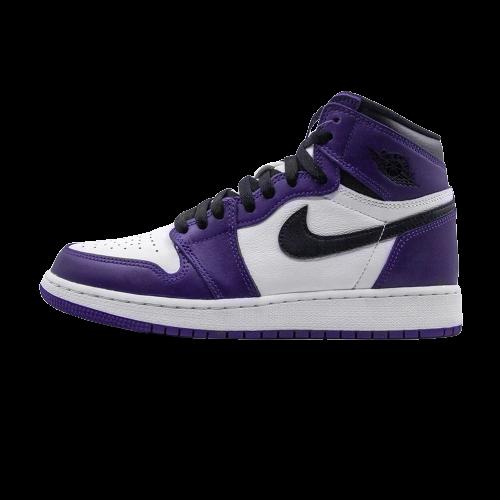 Jordan 1 Retro High Court Purple White (GS)