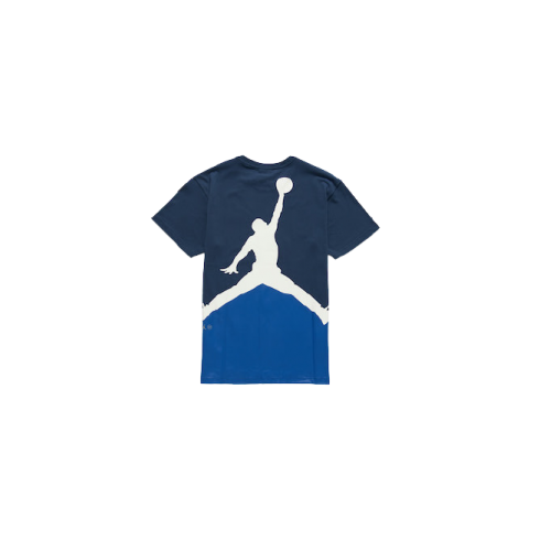 Air Jordan X Fragments Blue Short Sleeve Tee