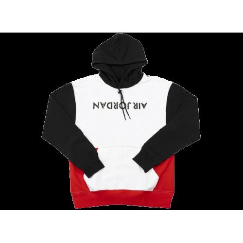 Air Jordan 4 Graphic Fleece Hoodie Black White