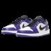 Jordan 1 Low Court Purple White