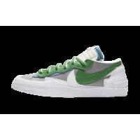 Nike Blazer Low sacai Medium Grey Classic Green