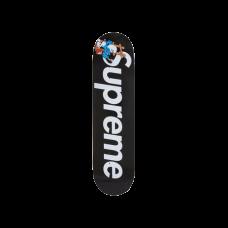 Supreme Smurfs Skateboard Black