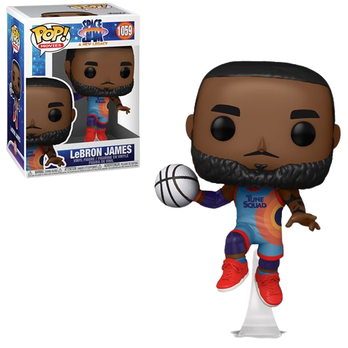 Movies Space Jam A New Legacy Lebron James Jumping Funco Pop