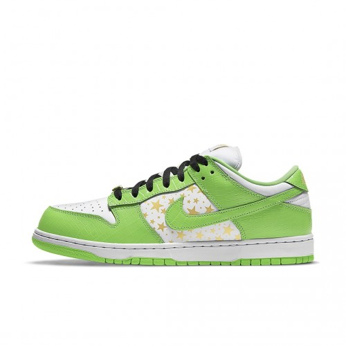 Nike SB Dunk Low Supreme Stars Mean Green