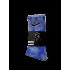 Nike Sockie Tie Dye Socks Blue
