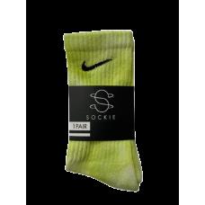Nike Sockie Tie Dye Lime