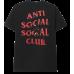 Anti Social Social Club Bitter Tee Black