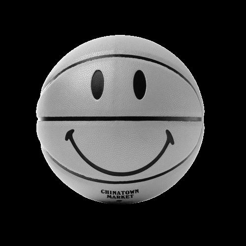 Chinatown Market 3M Smiley Basketball Grey