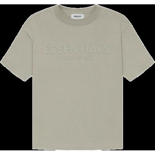 FEAR OF GOD ESSENTIALS Kids T-shirt Moss/Goat