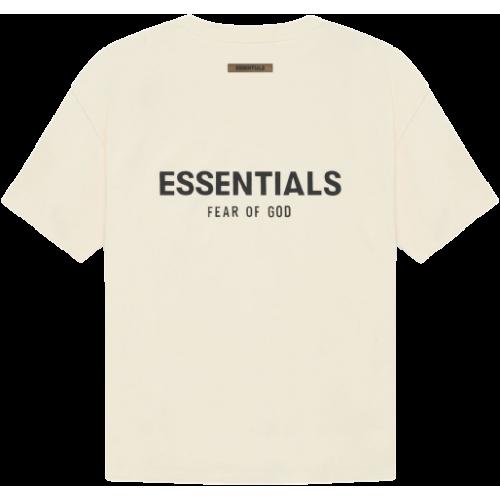 FEAR OF GOD ESSENTIALS T-shirt Cream/Buttercream