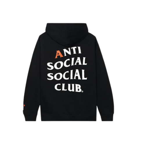 Anti Social Social Club Astro Gaming Black Hoodie