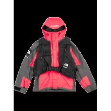 Supreme X Northface RTG Jacket + Vest Red Black