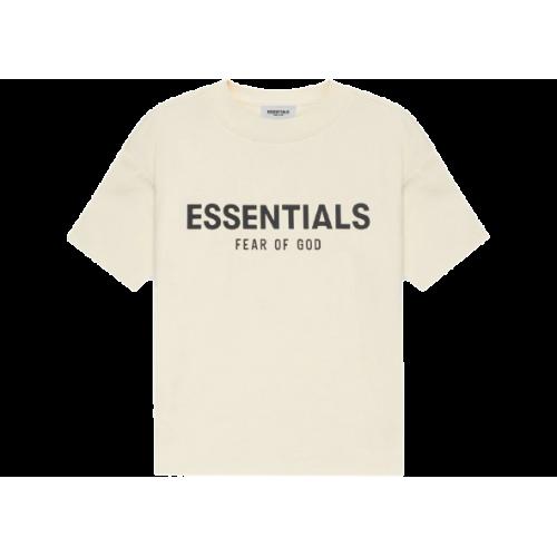 FEAR OF GOD ESSENTIALS Kids T-shirt Cream/Buttercream