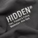 Hidden NY Logo Crewneck Sweatshirt Black