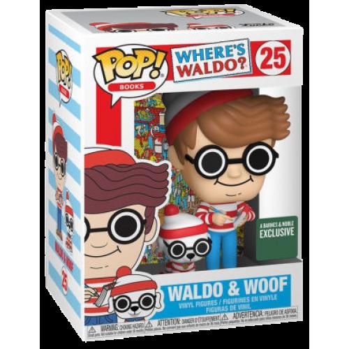 Funko Pop Waldo & Woof