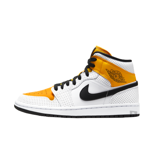 Jordan 1 Mid Laser Orange (W)