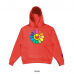 J Balvin x Murakami Rainbow Flower Hoodie