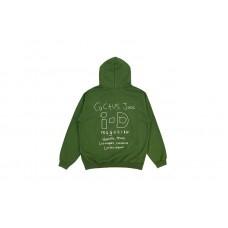 Travis Scott x i-D Green Hoodie