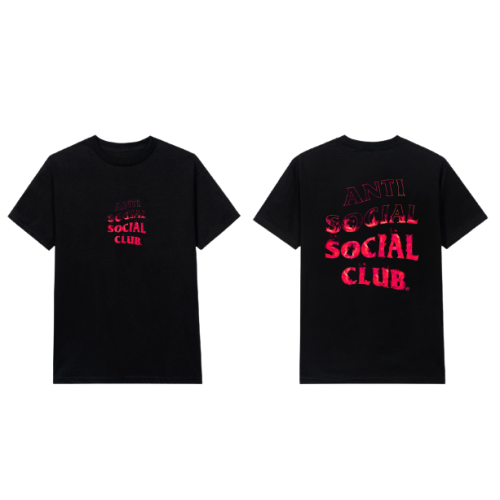 ASSC A Flame Inside Black Tee