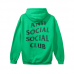 Anti Social Social Club Green Cigarette Hoodie