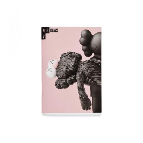 KAWS Pink Notebook NGV