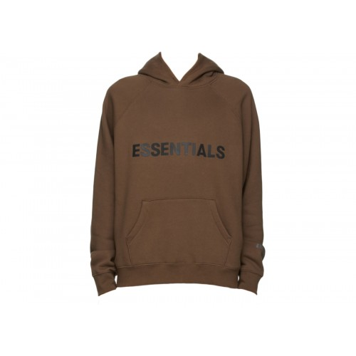 FOG Essentials Brown Hoodie
