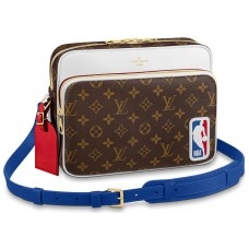 LOUIS VUITTON X NBA NIL MESSENGER MONOGRAM