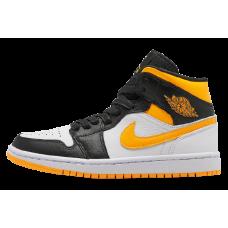Jordan 1 Mid Laser Orange Black (W)
