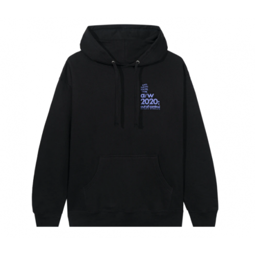 Anti Social Social Club 2020 Black Hoodie