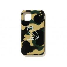 BAPE x OVO 1st Camo Iphone 11 Pro case Yellow