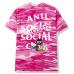"Anti Social Social Club x Hello Kitty ""Pink Camo"" Tee"