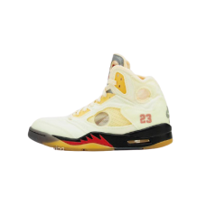 Nike Air Jordan 5 X Off White Sail