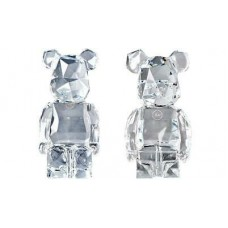 Bearbrick X Fragments X Baccarat Transparent