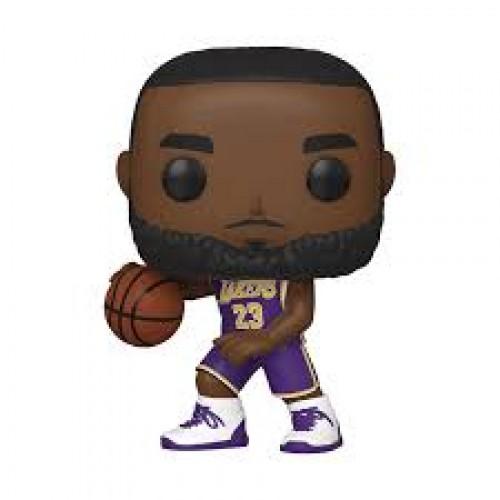 Lebron James La Lakers 23 Purple Jersey Pop