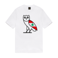 Cedar of Lebanon x OVO Owl White T