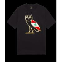 Cedar Of Lebanon X OVO Owl Tee Black