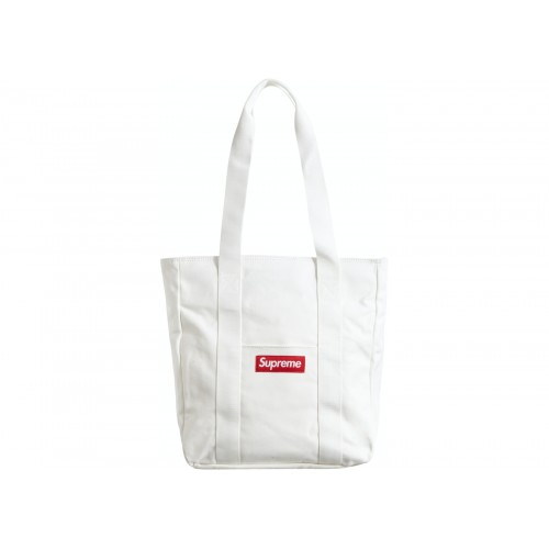 Supreme Tote Bag White SS20