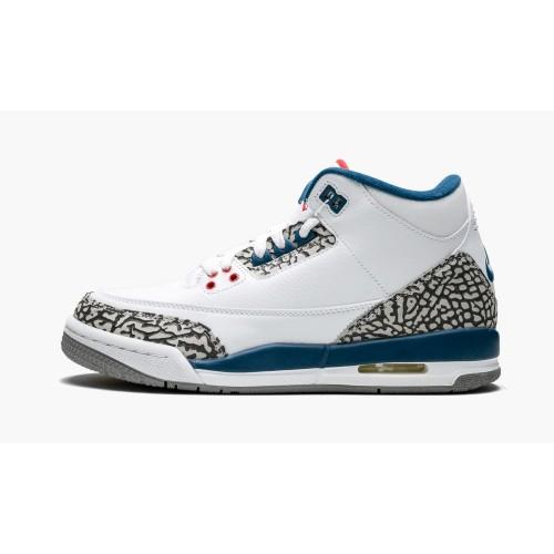 """Air Jordan 3 Retro OG """"True Blue"""" 2011"""