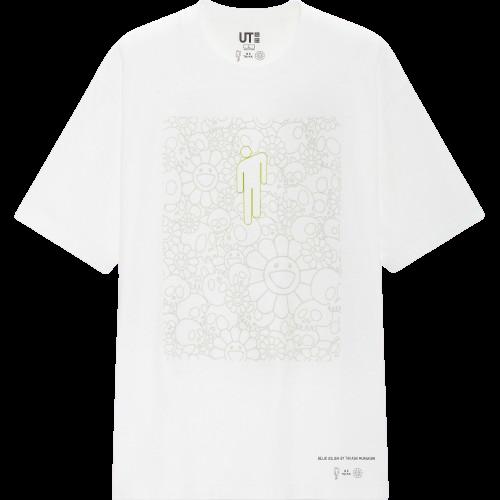 Billie Eilish x Murakami Monogram White Tee