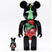 Bearbrick 400% Christmas Stained Glass Tree
