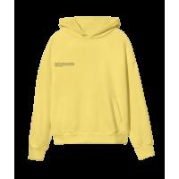 Pangaia Lightweight Recycled Cotton Hoodie Saffron Yellow