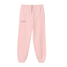 Pangaia Lightweight Recycled Cotton Track Pants Rose Quartz
