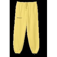 Pangaia Lightweight Recycled Cotton Track Pants Safron Yellow